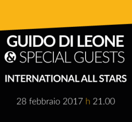 Guido Di Leone & Special Guest – International All Stars