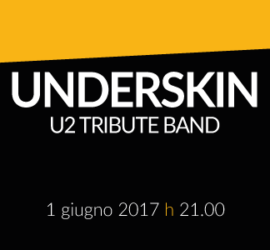 Underskin – U2 tribute band