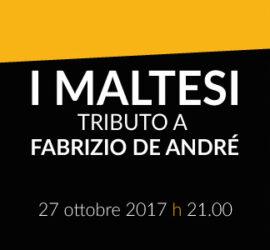 I MALTESI – Tributo a Faber