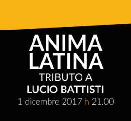 Anima Latina – Tributo a Lucio Battisti