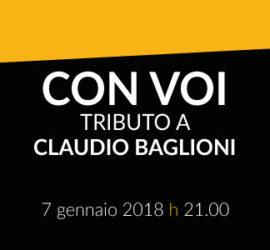 CON VOI – Tributo a Claudio Baglioni
